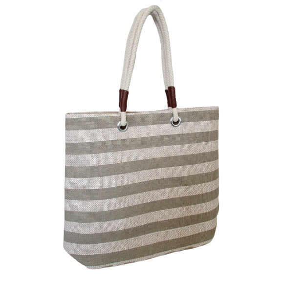 Jute Shopping Bag with Hope Handles