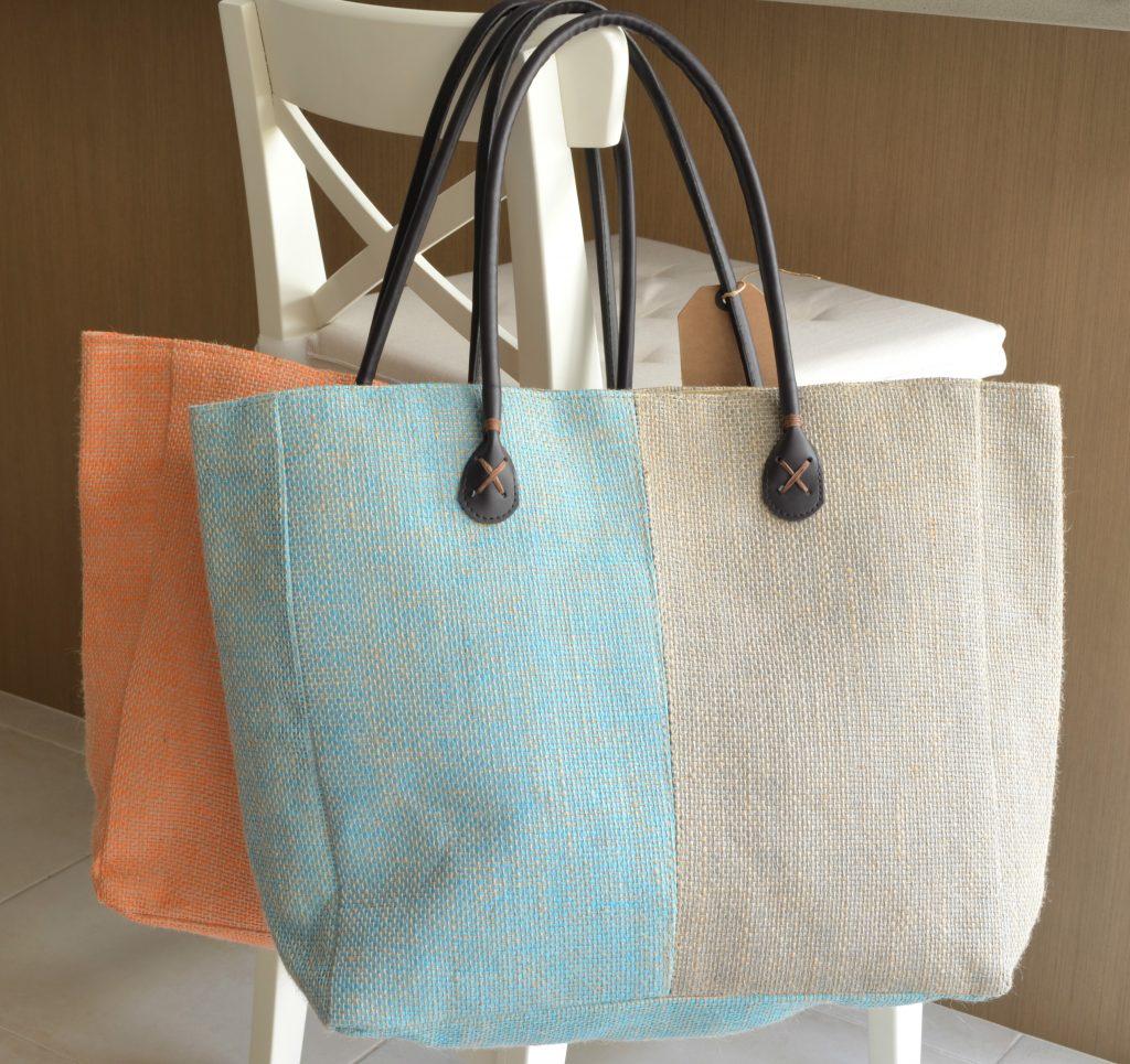 Jute Fiber Tote Bag