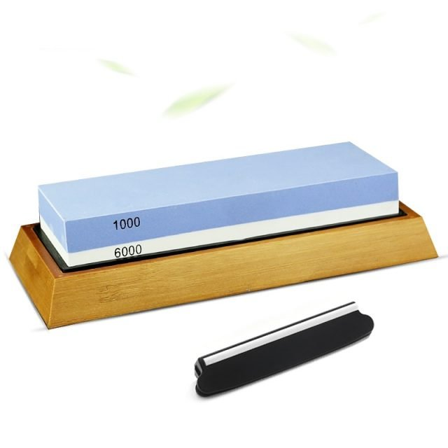 Dual Sided Whetstone Knife Sharpener